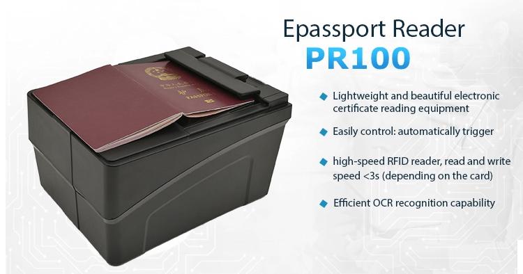 Passport Barcode Scanner for Travel Agency