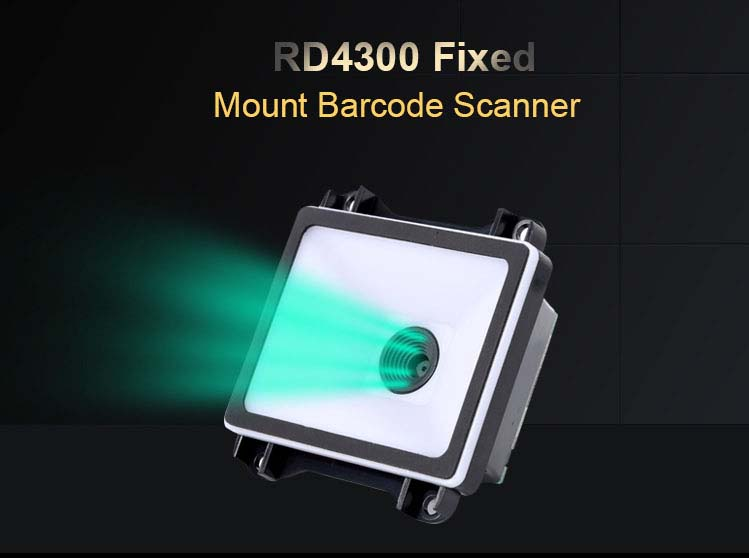 RD4300 Fixed Mount QR Code Scanner