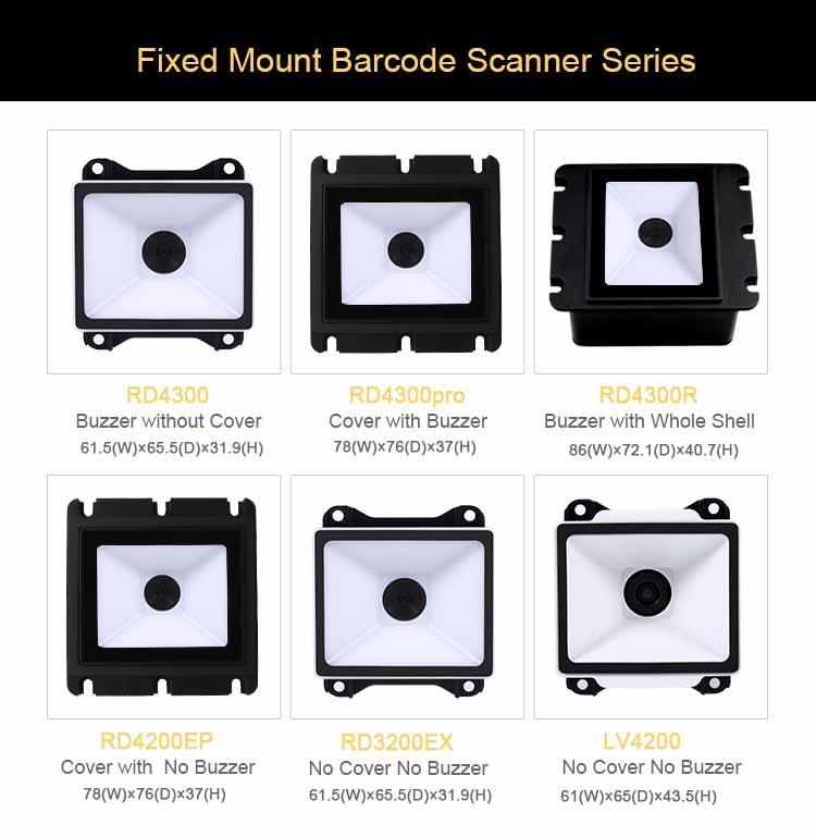 RD3200EX Fixed Mount 2D Barcode Reader