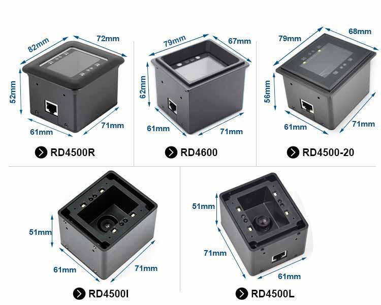 RD4600 Fixed 2D Barcode Reader Scanner Module