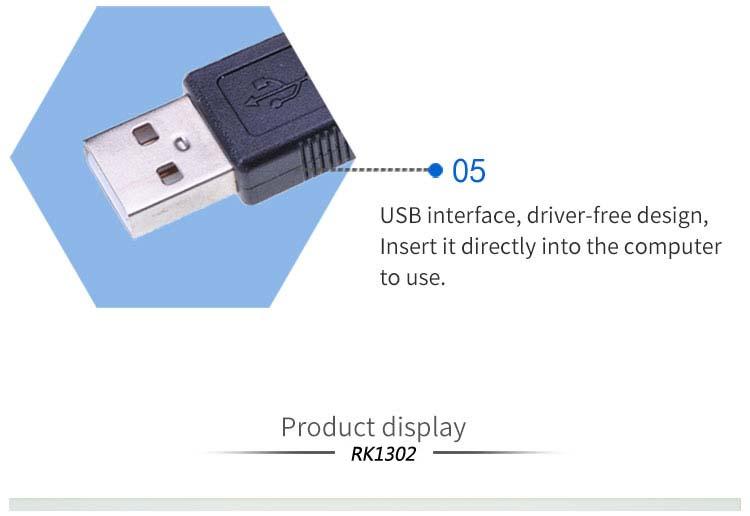 RK1302 1D 2D Handheld QR Code Barcode Reader Scanner