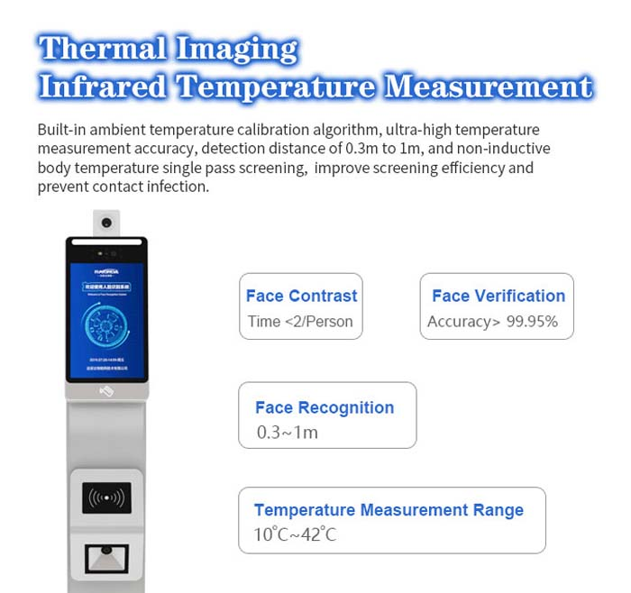 F2-FHS Face Recognition Access Control Integrated Machine