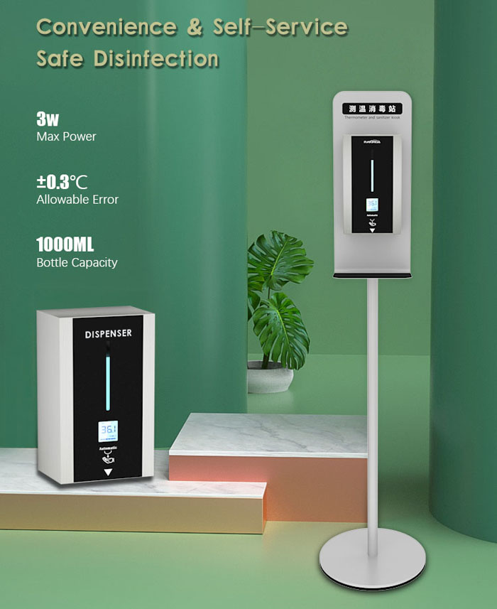 TF88 Stand Touchless Automatic Soap Liquid Dispenser