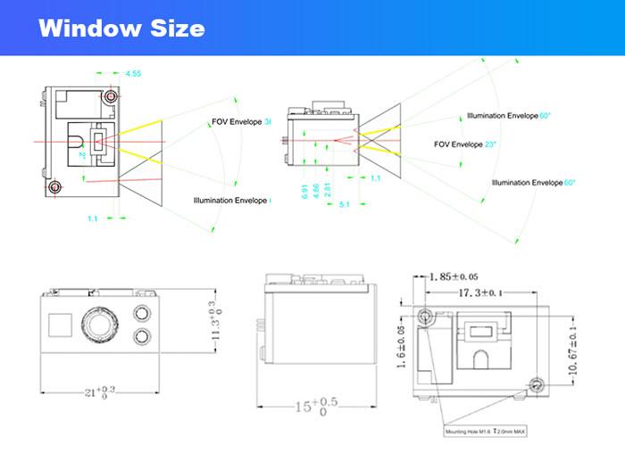 LV30 Mini Image 2D Scanning Engine