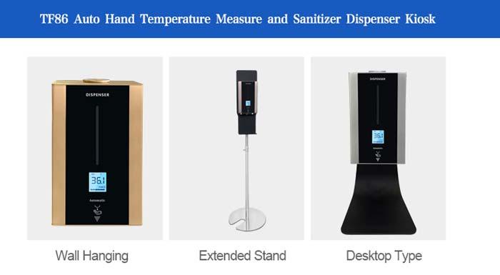TF86 Touchless Hand Sanitizer Liquid Dispenser