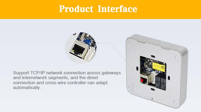RD006 RFID 2D QR Code Reader Wifi Barcode Scanner for Access Control