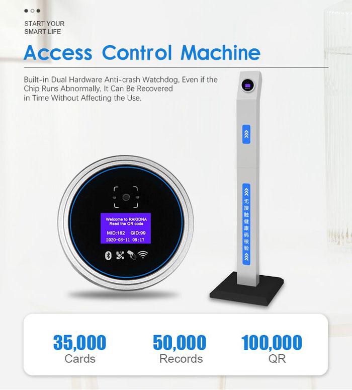 RD008 4G QR Code Access Control Machine