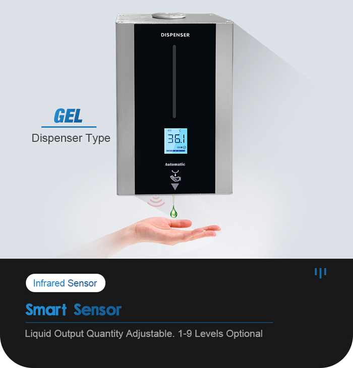 TF88 Wall Mounted Touchless Hand Gel Dispenser