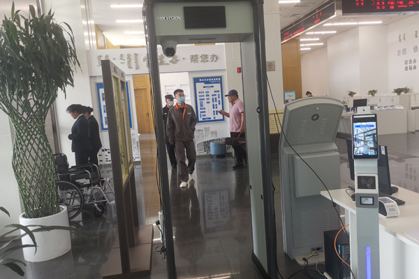 Inner Mongolia Government Sector Introduces Smart Face Recognition Temperature Device