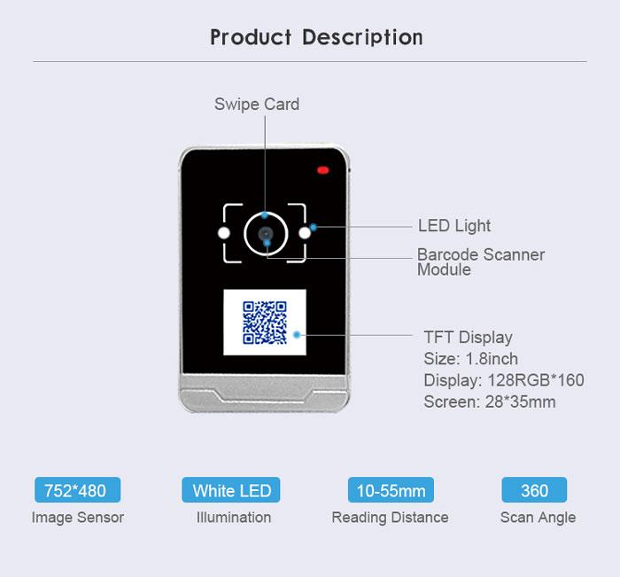 RD009 4G IC Card Access Control Machine