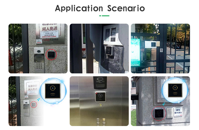 RD003 NFC and QR Code Gate Access Control