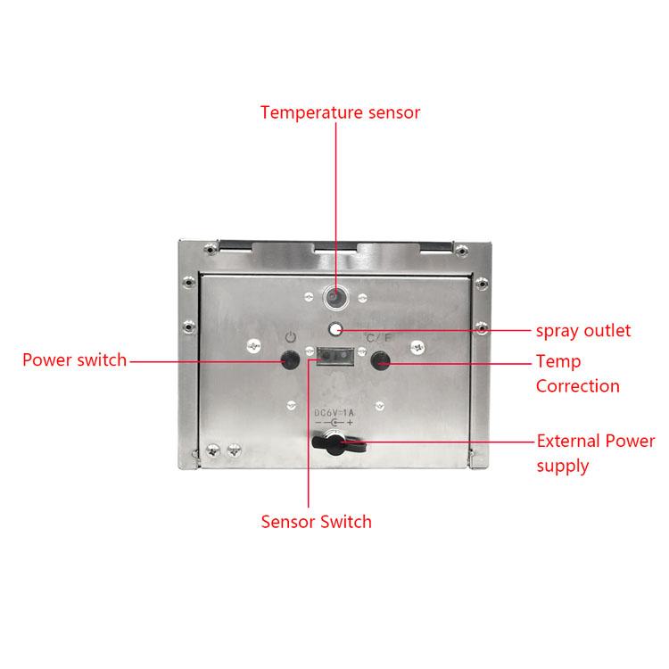 TF88 Temperature Measure and Dispenser Kiosk