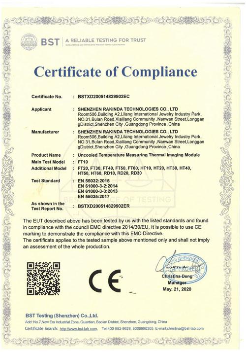 Thermal Imaging Camera CE