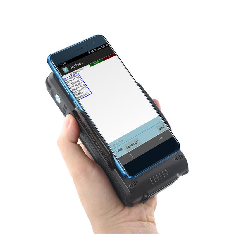 LVB02A Bluetooth Barcode Scanner WIFI RFID Reader