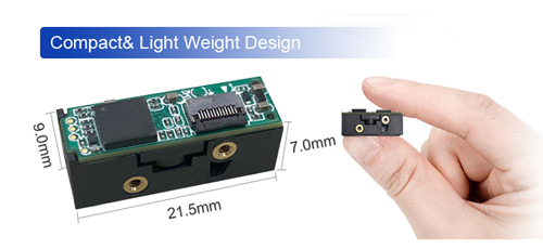 Rakinda Small Size Scanner LV2097 Can Be Easily Embedded in a Pos Machine